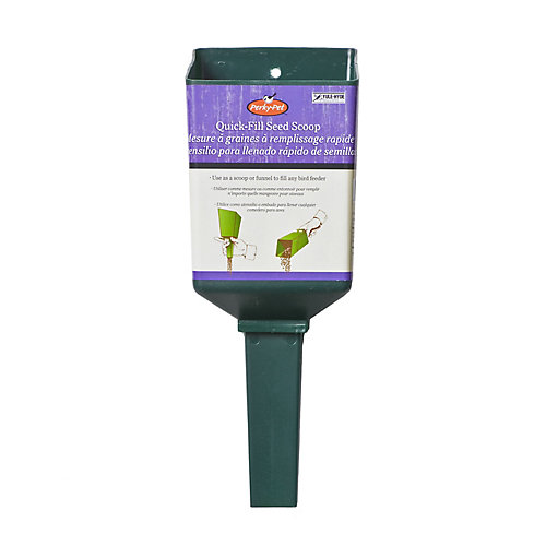 Quick-Fill Bird Seed Scoop