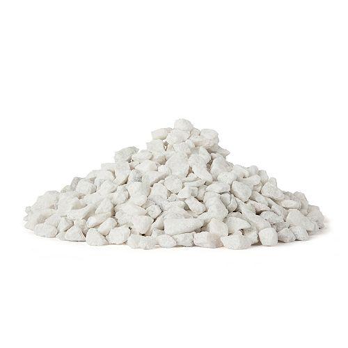 Pierres blanches décoratives, 44 lb