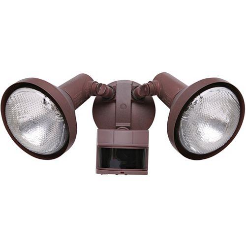 Heath Zenith Luminaire de sécurité à détecteur de mouvement PAR de 240 degrés Heath Zenith - rouille