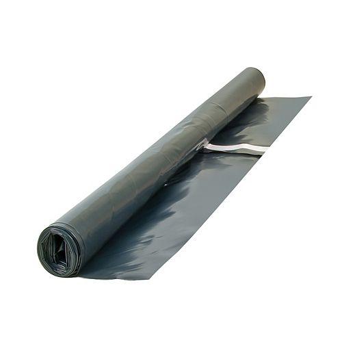 10 x 12 feet x 6Mil Moisture Barricade Underlayment Sheeting for Laminate Floors,120 sq. feet Roll