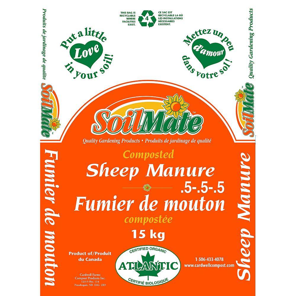 Soilmate 15 kg Natural Composted Sheep Manure