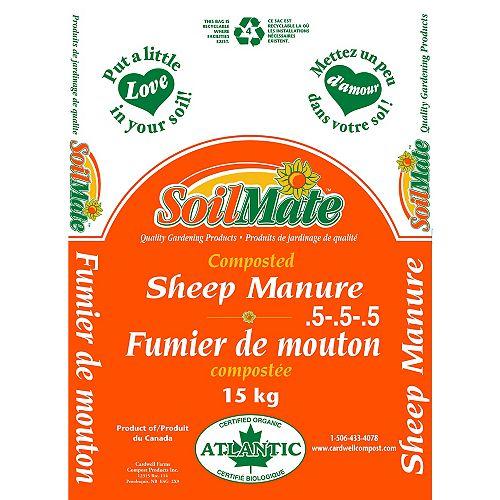 15 kg Natural Composted Sheep Manure
