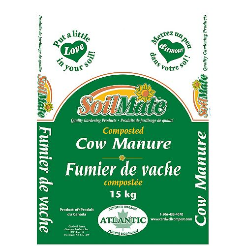 15 kg Natural Composted Cow Manure