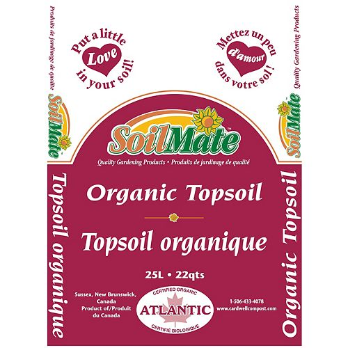 Soilmate Organic Topsoil 25L