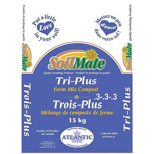 Tri-Plus Farm mix Compost 15KG