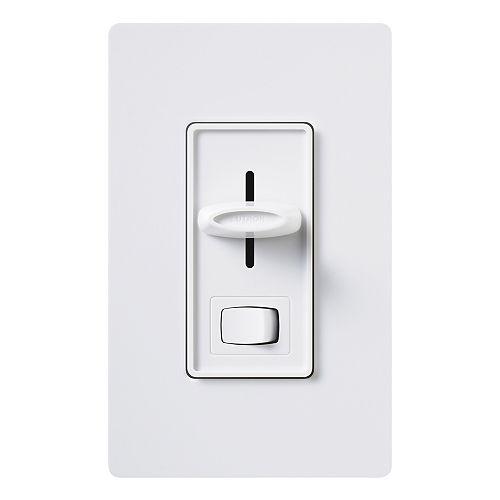 Lutron Skylark Gradateur unipolaire 600 watts Eco-Dimmer, blanc