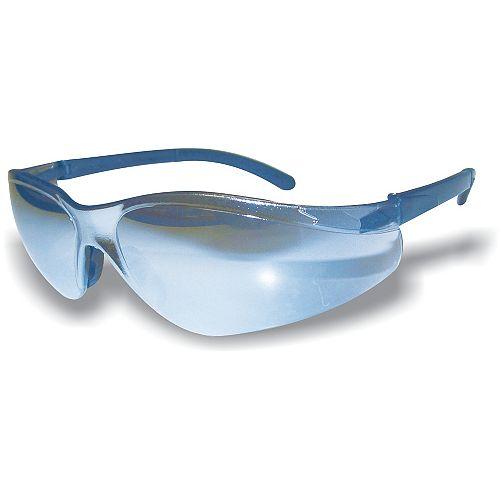 Extreme Shades Wrap Around Sfty Glass Blue Lens