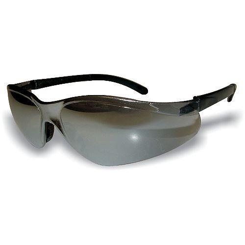 Extreme Shades Wrap Around Safety Glass Black Lens