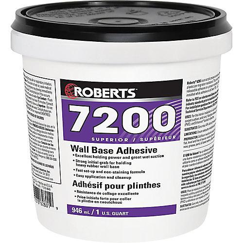 7200, 946mL Wall Base Adhesive, Superior Grade