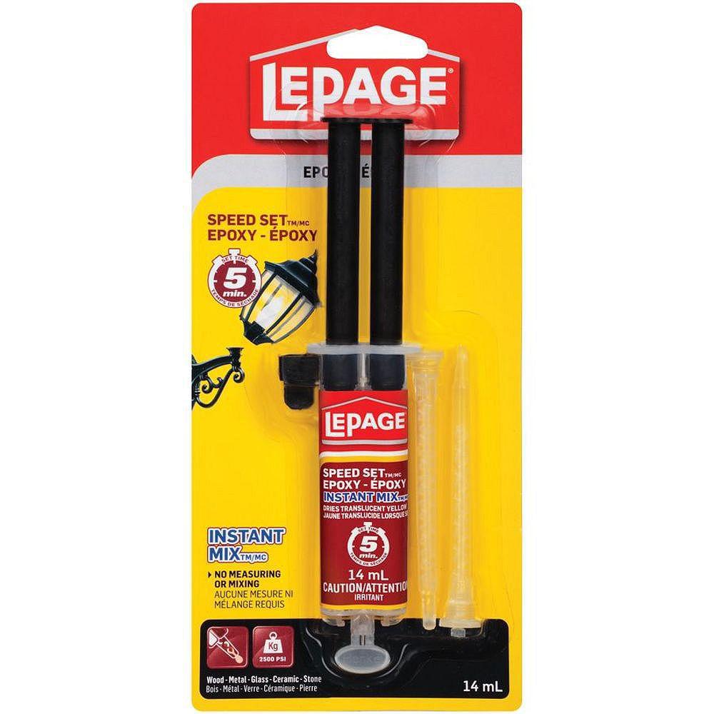LePage Speed Set Instant Mix Époxy