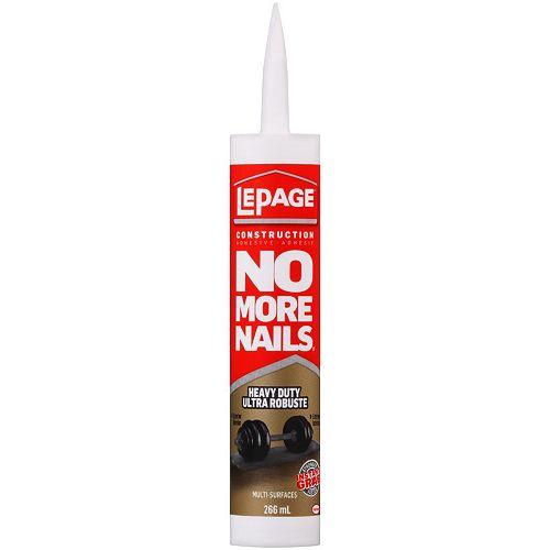 No More Nails Heavy Duty Construction Adhesive 266ml