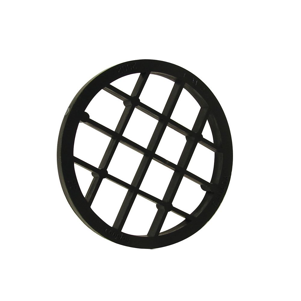 IPEX HomeRite Products GRILLE POUR SORTIE  D ftÉVACUATION 2 inches