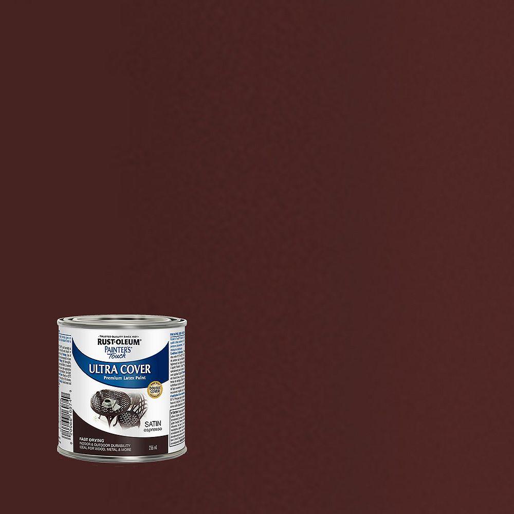 Rust-Oleum Painter's Touch Peinture Multi Usages En Expresso Satiné - 236 mL
