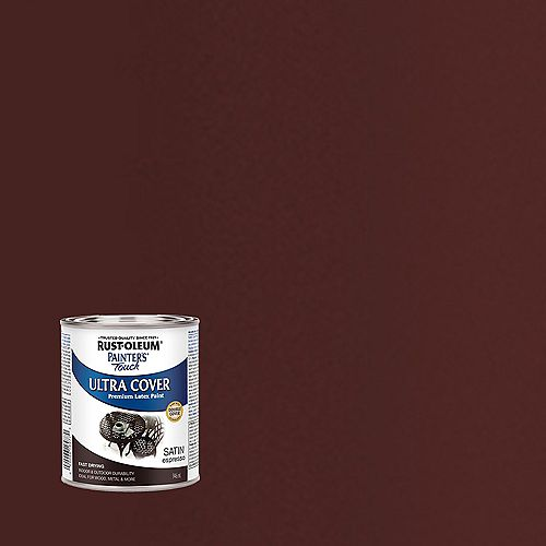 Rust-Oleum Painter's Touch Multi-Purpose Paint in Satin Espresso, 946 mL