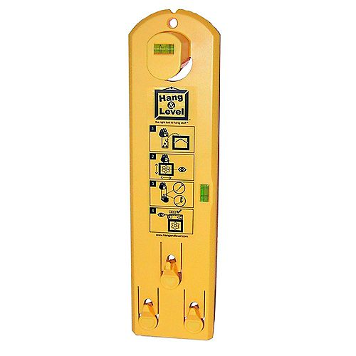 Under The Roof Decorating Hang & Level Picture Hanging Tool - 1pk