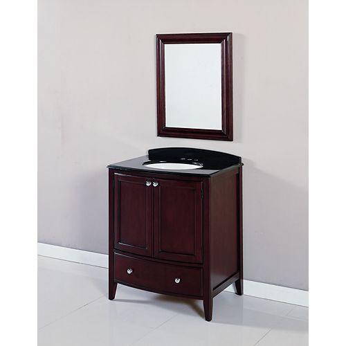 Meuble-lavabo Coventry combiné, 30 po