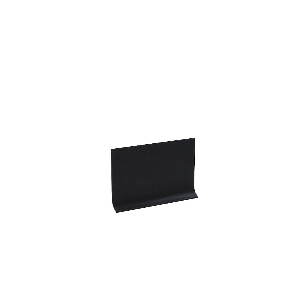 Shur Trim 4 inch Vinyl Wall Base - 100 ft - Black