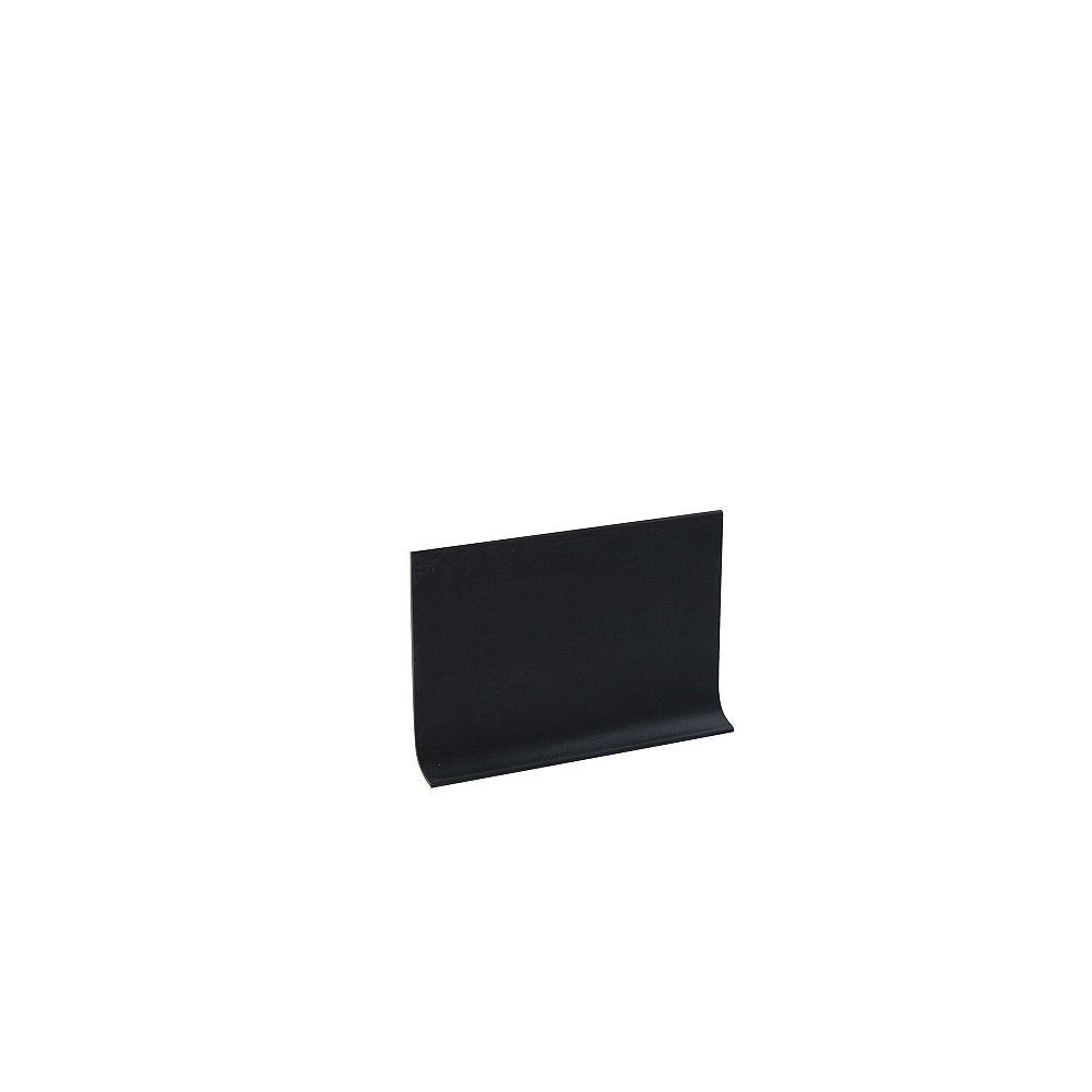 Shur Trim 4 inch Vinyl Wall Base - 20 ft - Black