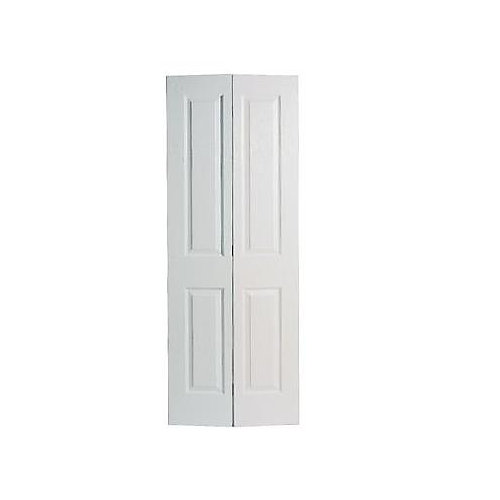 36-inch x 80-inch 2-Panel Smooth Bifold Door