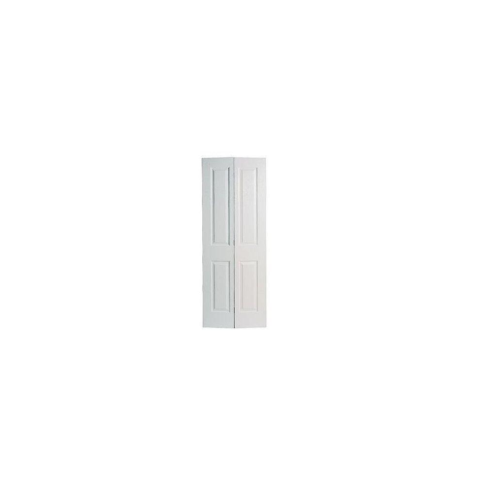 Masonite Porte pliante lisse 2 panneaux 36 po x 80 po