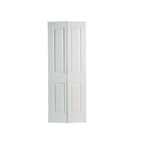 36-inch x 80-inch 2-Panel Smooth Bifold Door