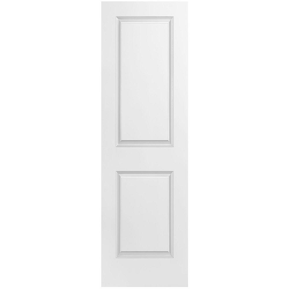 Masonite Porte unie lisse 2 panneaux 24 po x 80 po