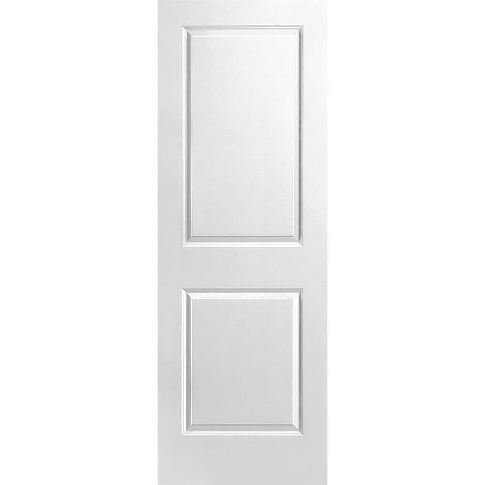 Masonite Porte unie lisse 2 panneaux 28 po x 80 po