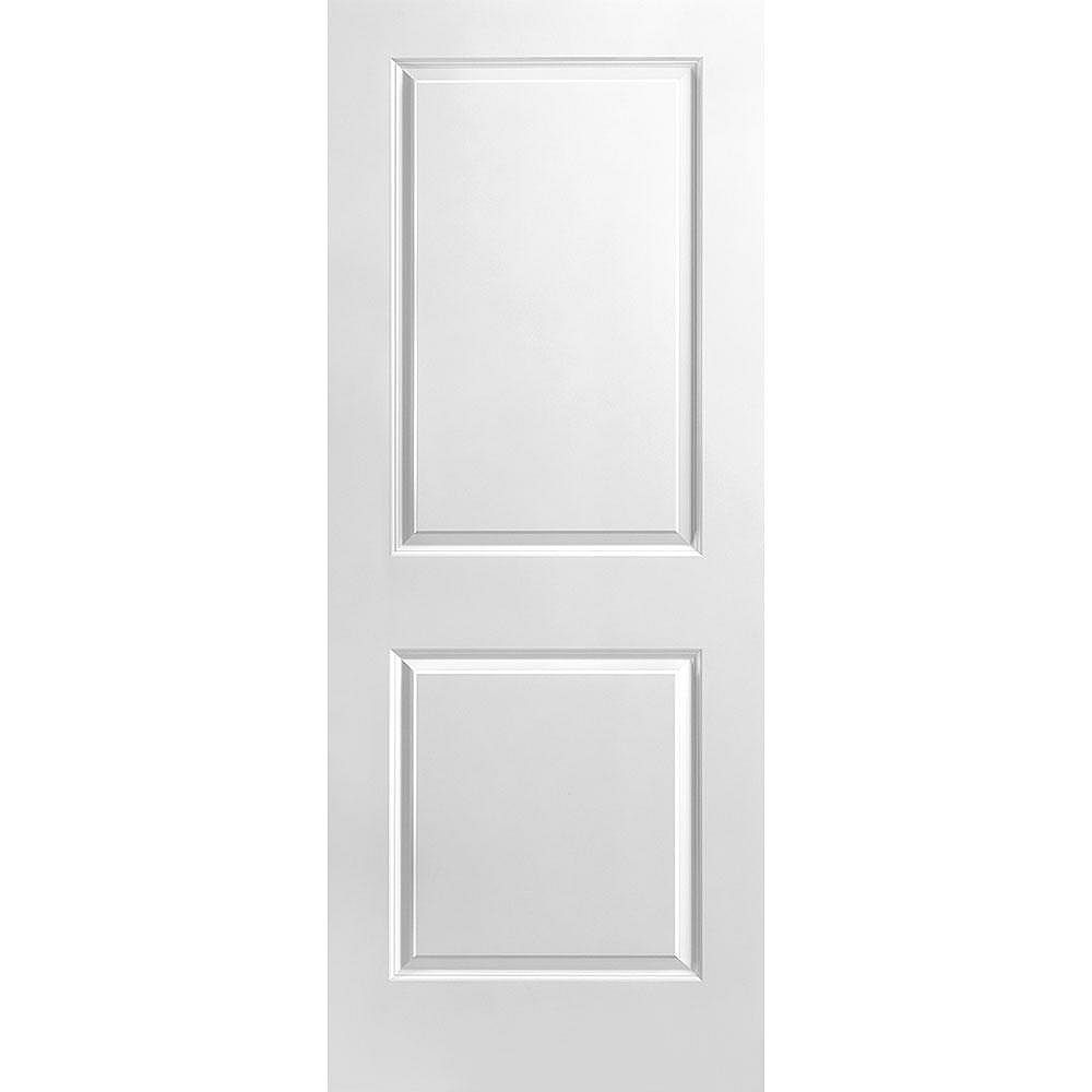 Masonite Porte unie lisse 2 panneaux 32 po x 80 po