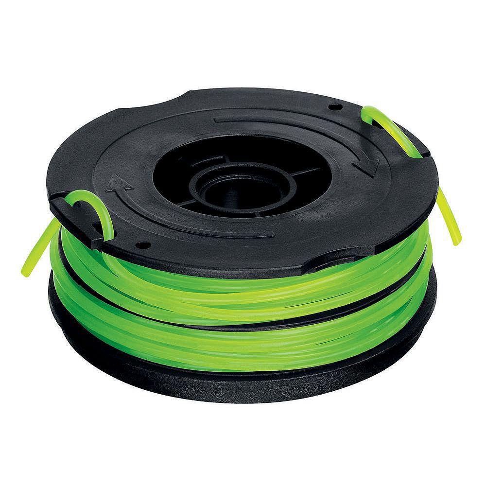 BLACK+DECKER 0,080 po x 30 pi. Bobine d'alimentation automatique AFS de remplacement à deux lignes pour GH1000 Coupe-bordures électrique pour herbe à fil/bordures rases
