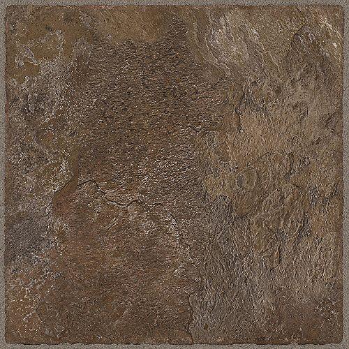Chocolate 12-inch x 36-inch Luxury Vinyl Tile Flooring (24 sq. ft. / case)