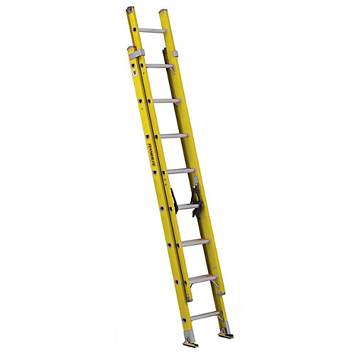 fibreglass extension ladder 16 Feet  grade IA