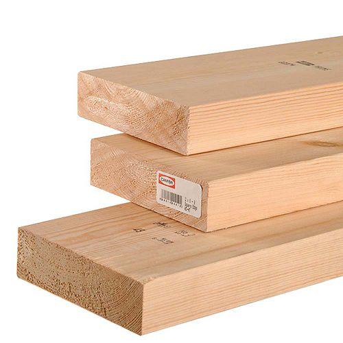 2x6 92 1/4 E.P.S bois de construction
