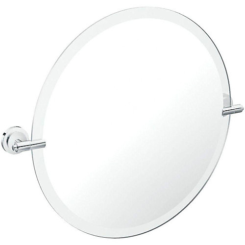Miroir mural pivotant ISO, 23 4/5 po L x 22 po H, fini chrome