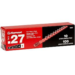 .27 Caliber Strip Shot Red Load (100-Pack)