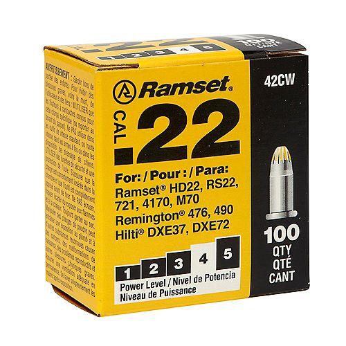 22 Cal. Single Shot Yellow Load (100-Pack)