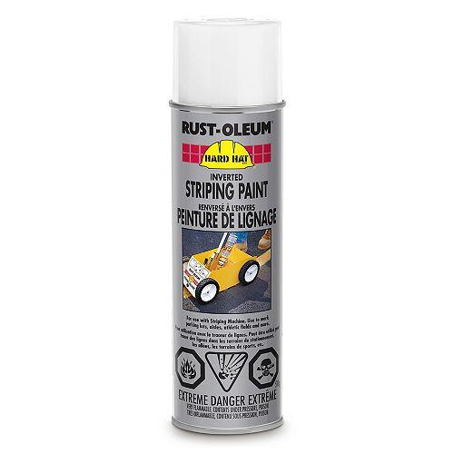 Rust-Oleum Professional Peinture De Lignage Renversé (À L'Envers) En Blanc - 510 G Aerosol