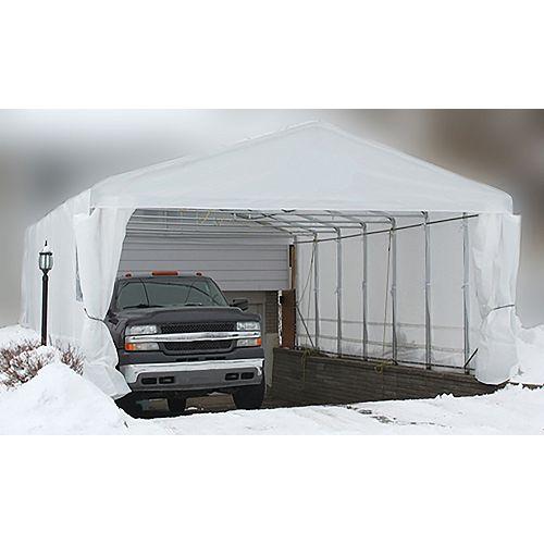 18 ft. x 20 ft. Everest car shelter