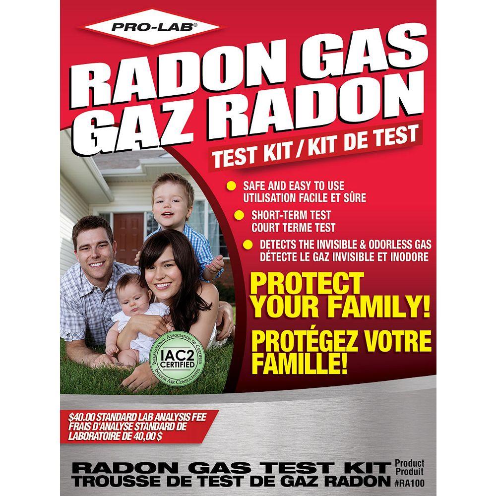 PRO-LAB PRO LAB Radon Gas Test Kits RA100