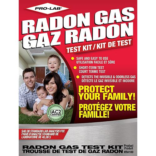 RA100 Radon Gas Test Kit