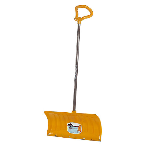 Snow Shovel with Steel Strip