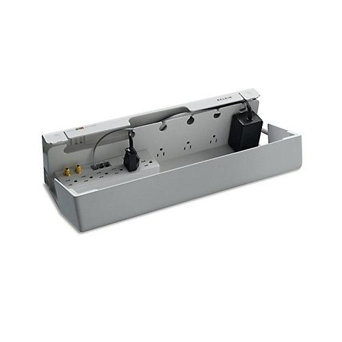 Parasurtenseur dissimulé à 11 prises, protection  ligne tél./coax./Ethernet, cordon de 12 pi