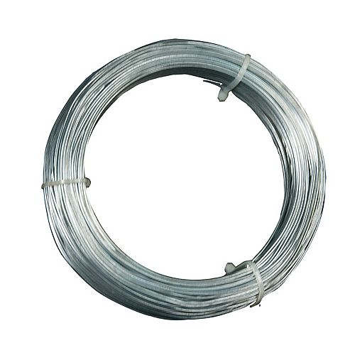 Câble de Suspension de 12 Calibre, pour suspendre les Ts pour faux-plafonds des tire-fonds, 100 pieds
