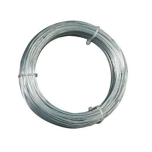 Câble de Suspension de 18 Calibre, pour suspendre les Ts pour faux-plafonds des tire-fonds, 300 pieds