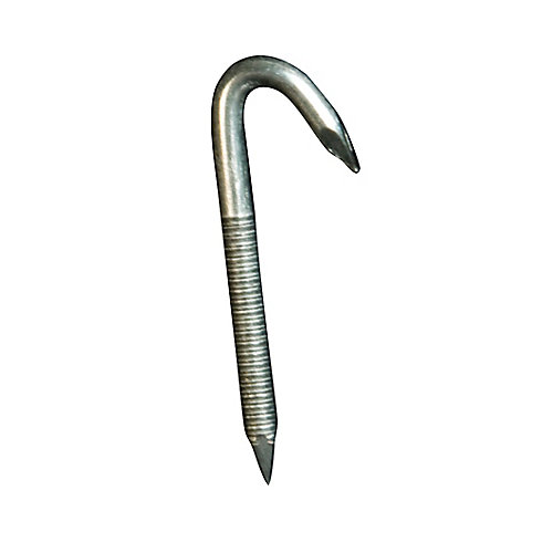 Wire-Fastening Nail Hooks for Drop Ceiling Wire Attachment (20-Pack)