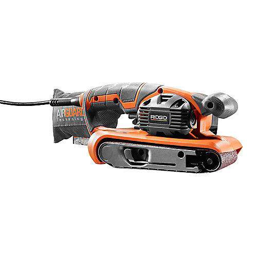 3-inch x 18-inch Heavy Duty Variable Speed Belt Sander with AIRGUARD Technology