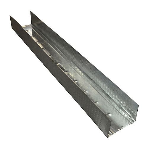 Bailey Platinum Plus 1- 5/8 inch x 10 ft. Galvanized Steel Wall Framing Track