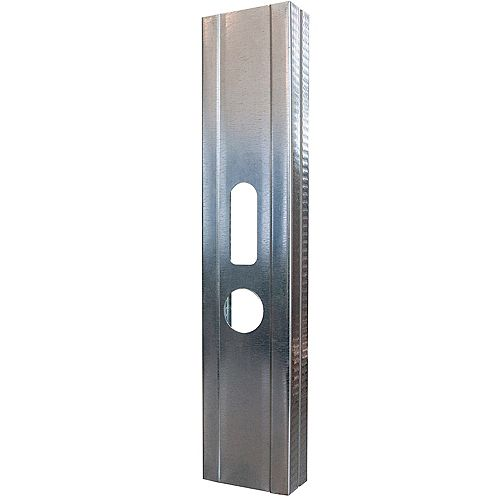 Bailey Metal Products Bailey Platinum Plus 2- 1/2 inch x 8 ft. Galvanized Steel Wall Framing Stud
