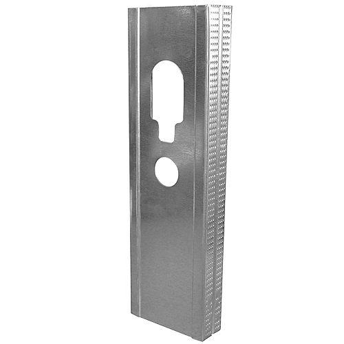Bailey Metal Products 3 5/8 Galvanized Steel Stud 12 ft.  .018 Platinum Plus