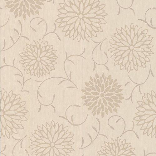 Graham & Brown Romantique Papier Peint Crème