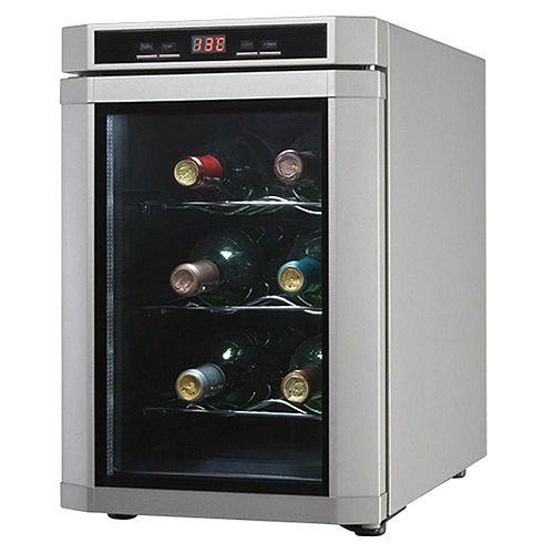 Maitre'D 6 Bottle Platinum Wine Cooler
